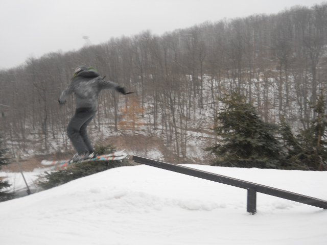 Pole Jam at Seven Springs