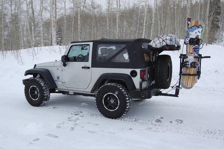 jeep wrangler ski rack