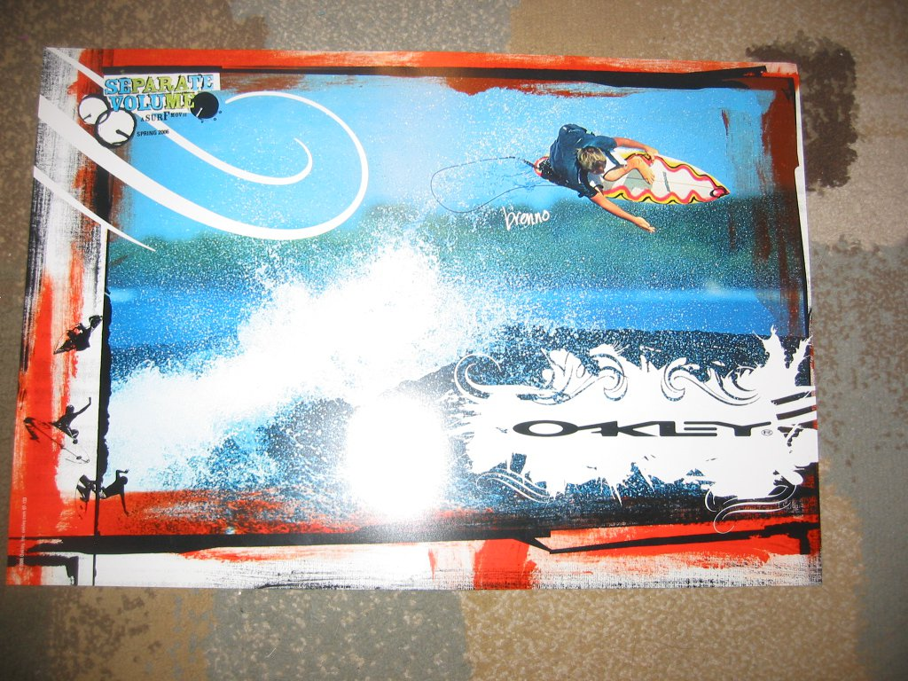 oakley surf poster
