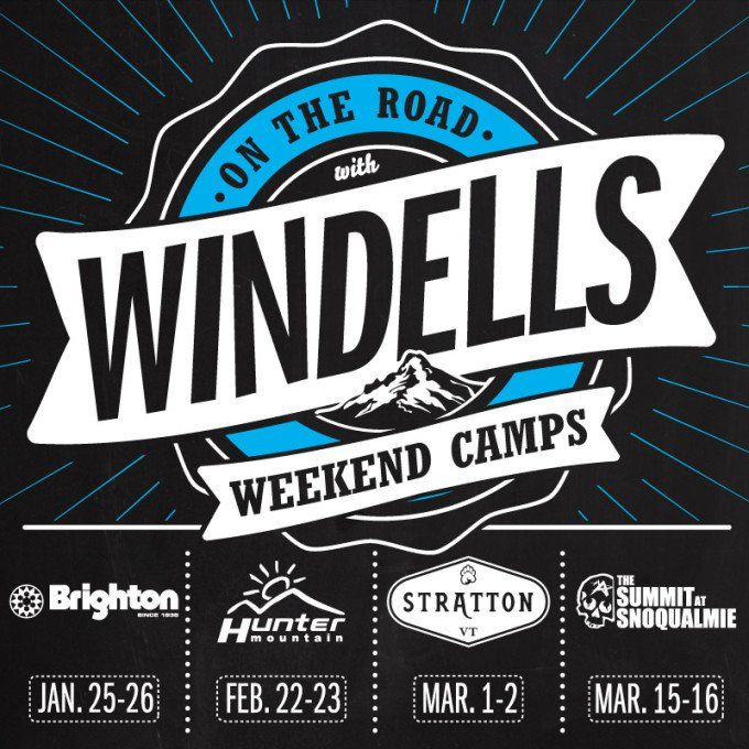 Windells Camp On The Road 2014: Weekend camps announced!