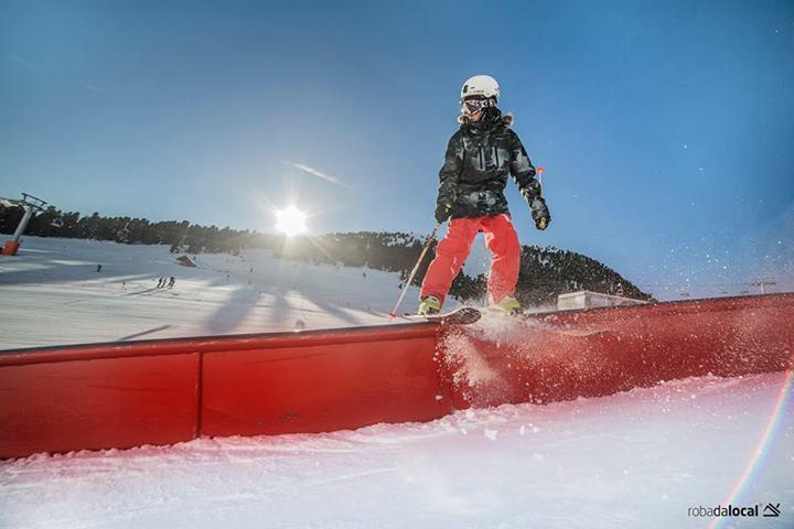 Rail pz 270 @ Obereggen Snowpark
