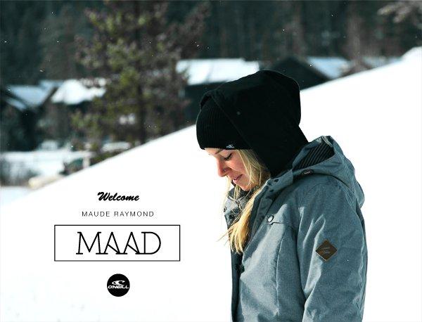 O'Neill Welcomes Maad Maude
