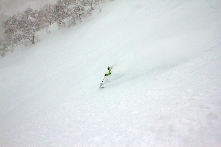Sometimes it snows in Japan