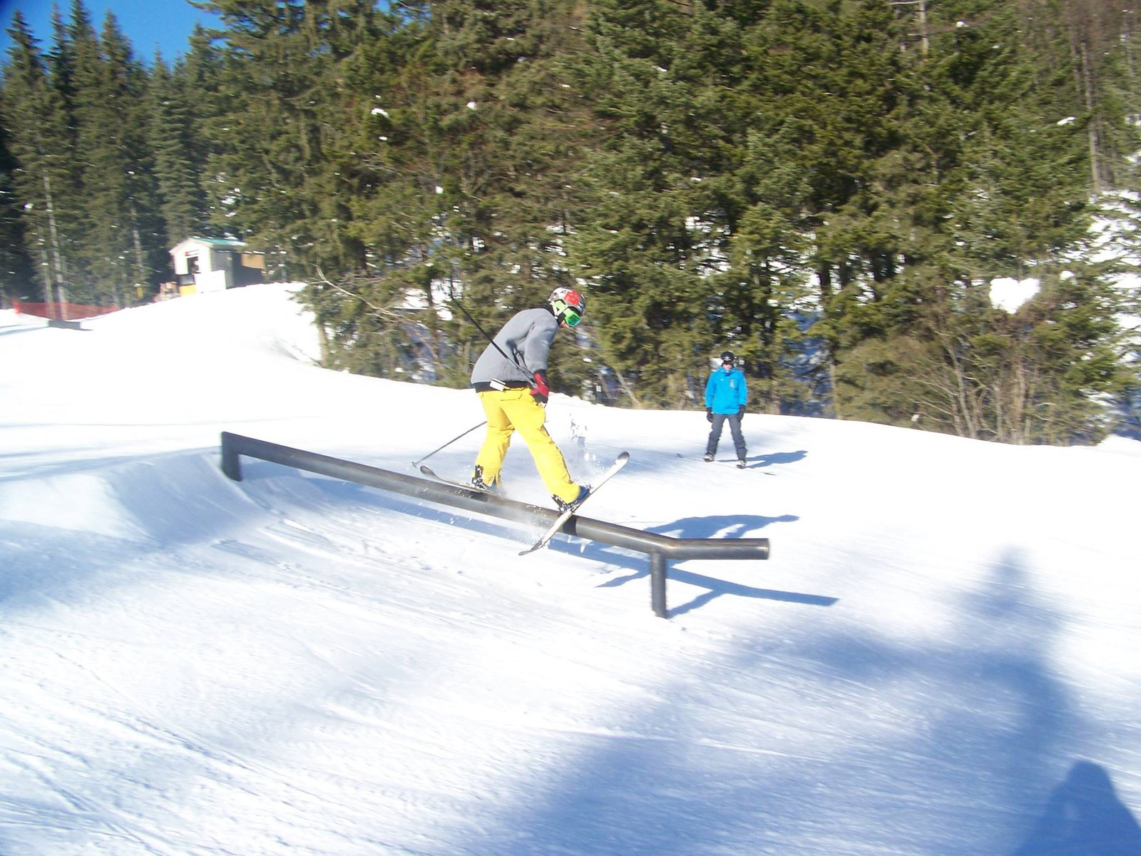 Sunny day at Whitefish