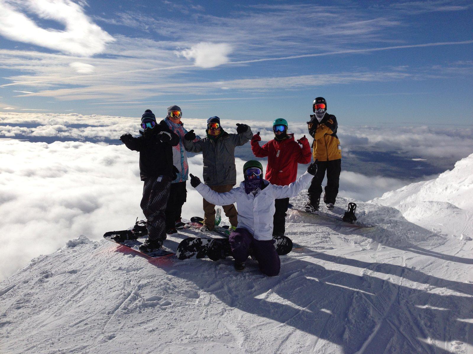 Summit Mt Bachelor
