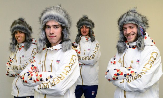 Czech olympic team uniform