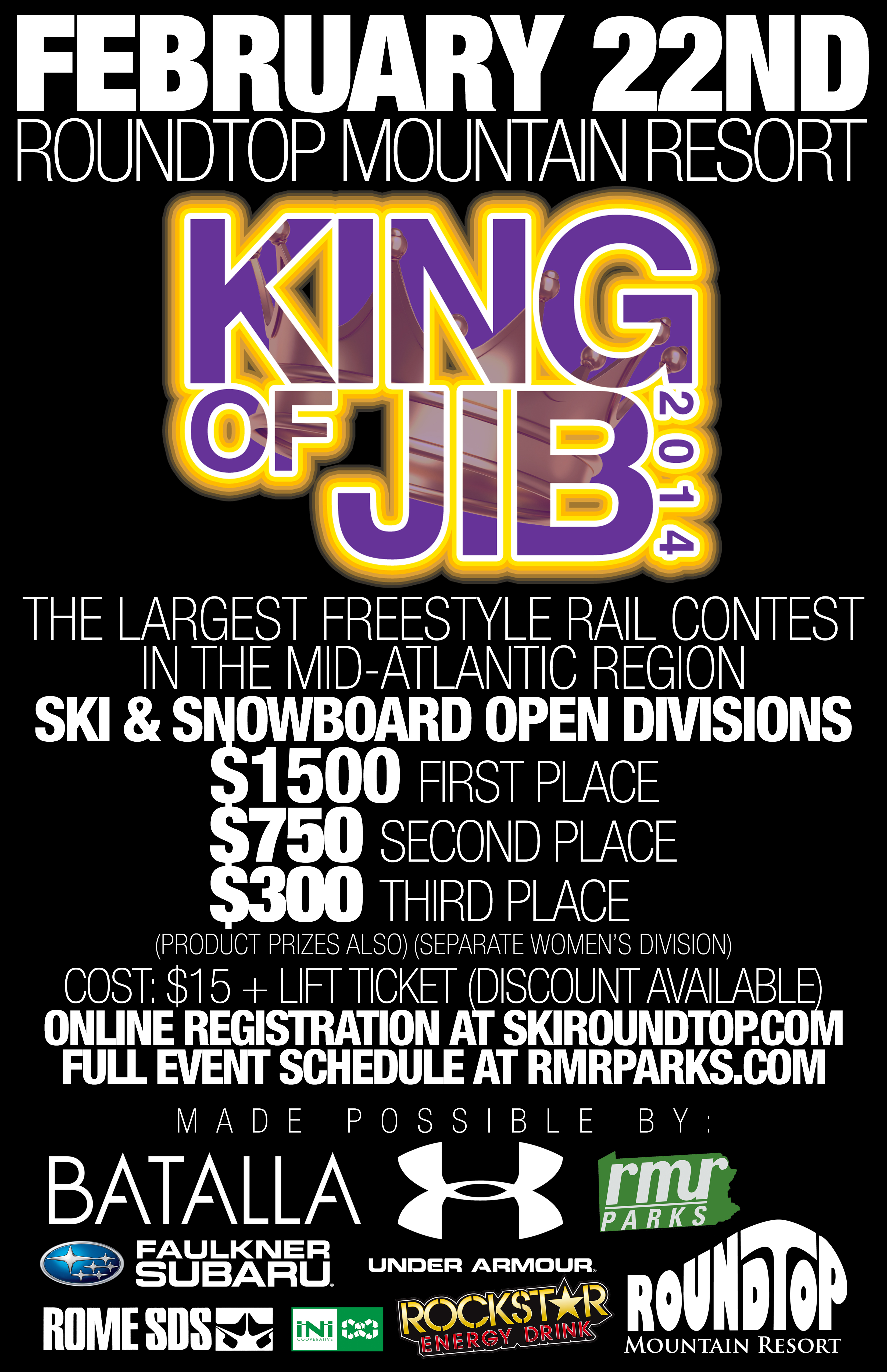 King of Jib Returns to PA Cash Purse Doubled Newschoolers