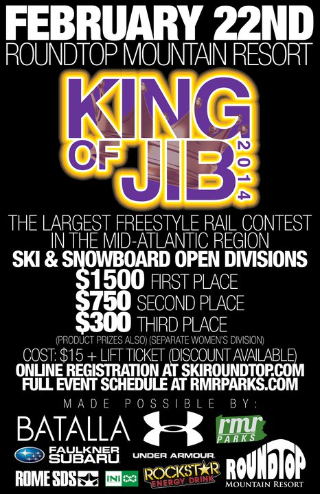 King of Jib Returns to PA, Cash Purse Doubled