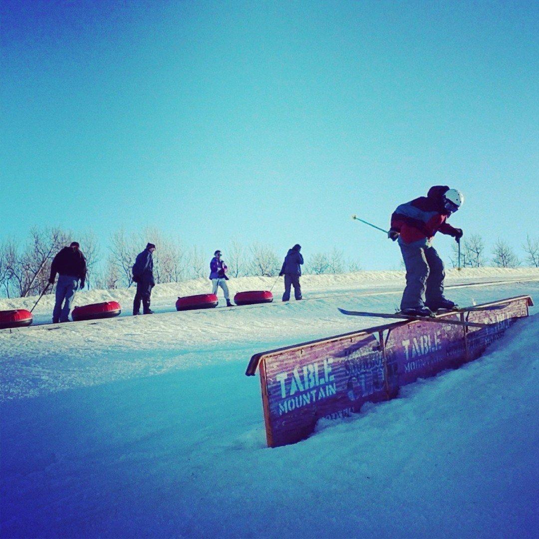 Saskatchewan Slidin'