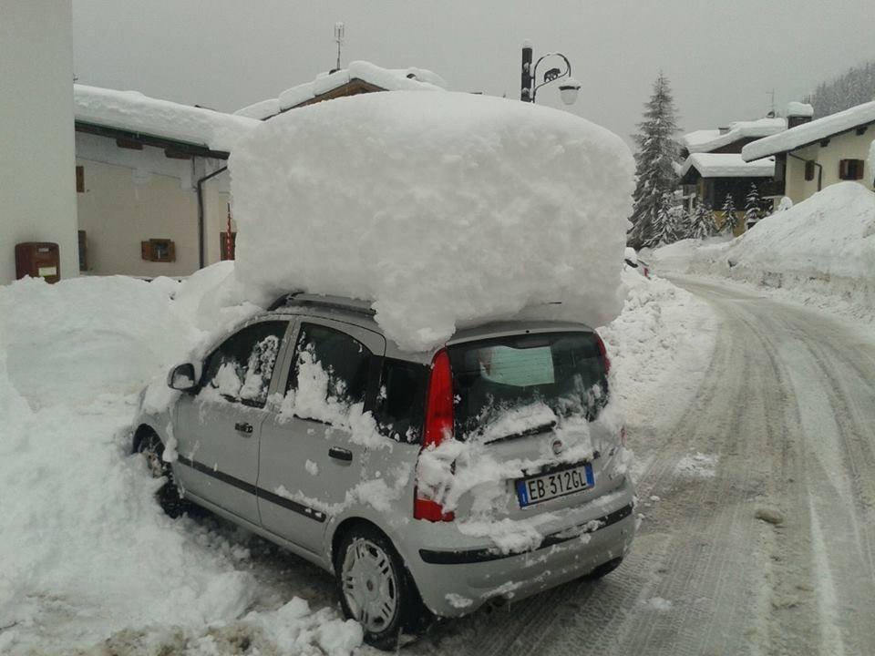 A little bit of snow...