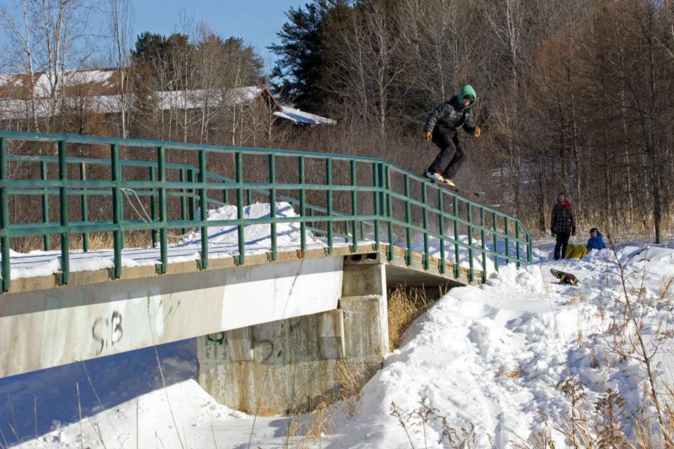 Bridge rail