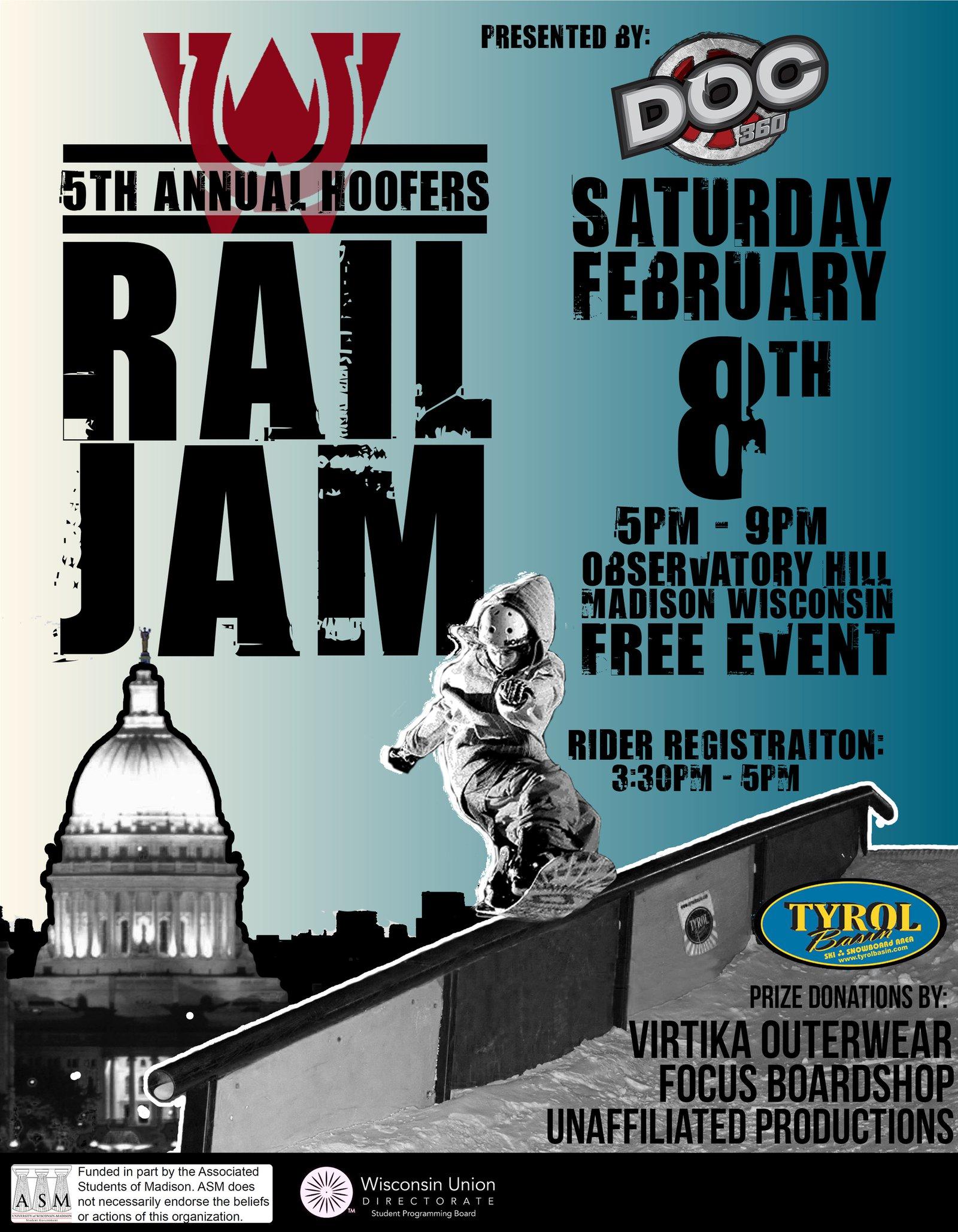 5th Hoofers Rail Jam
