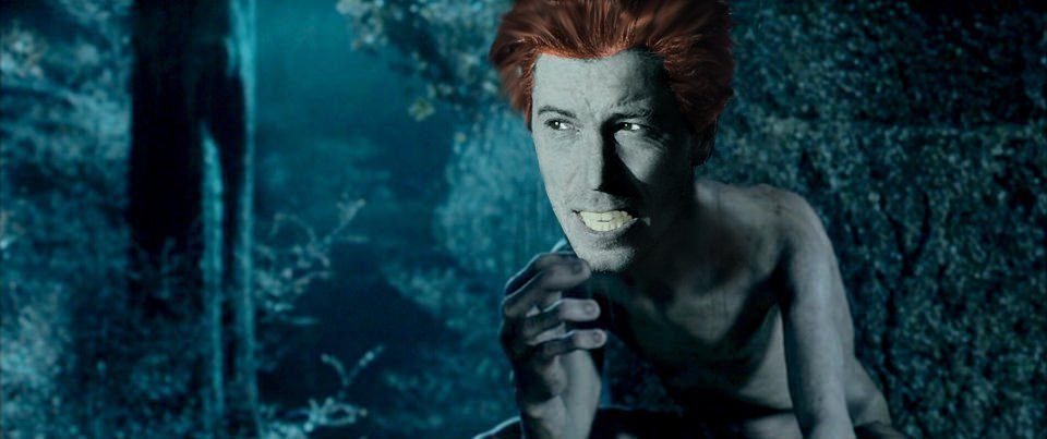 shaun white smeagol for thread