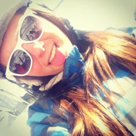 chairlift selfie
