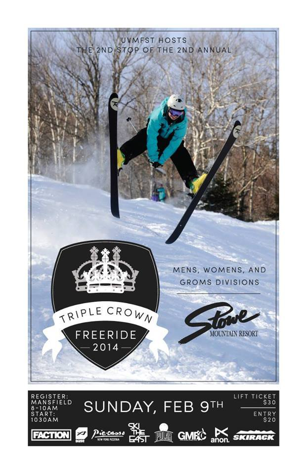 UVMFST Freeride Comp at Stowe