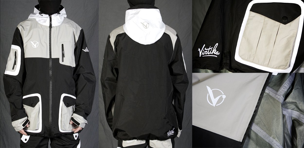 14/15 Vir-Tek Shell Jacket and Pant