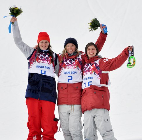 The first Olympic Freeskiing medalists