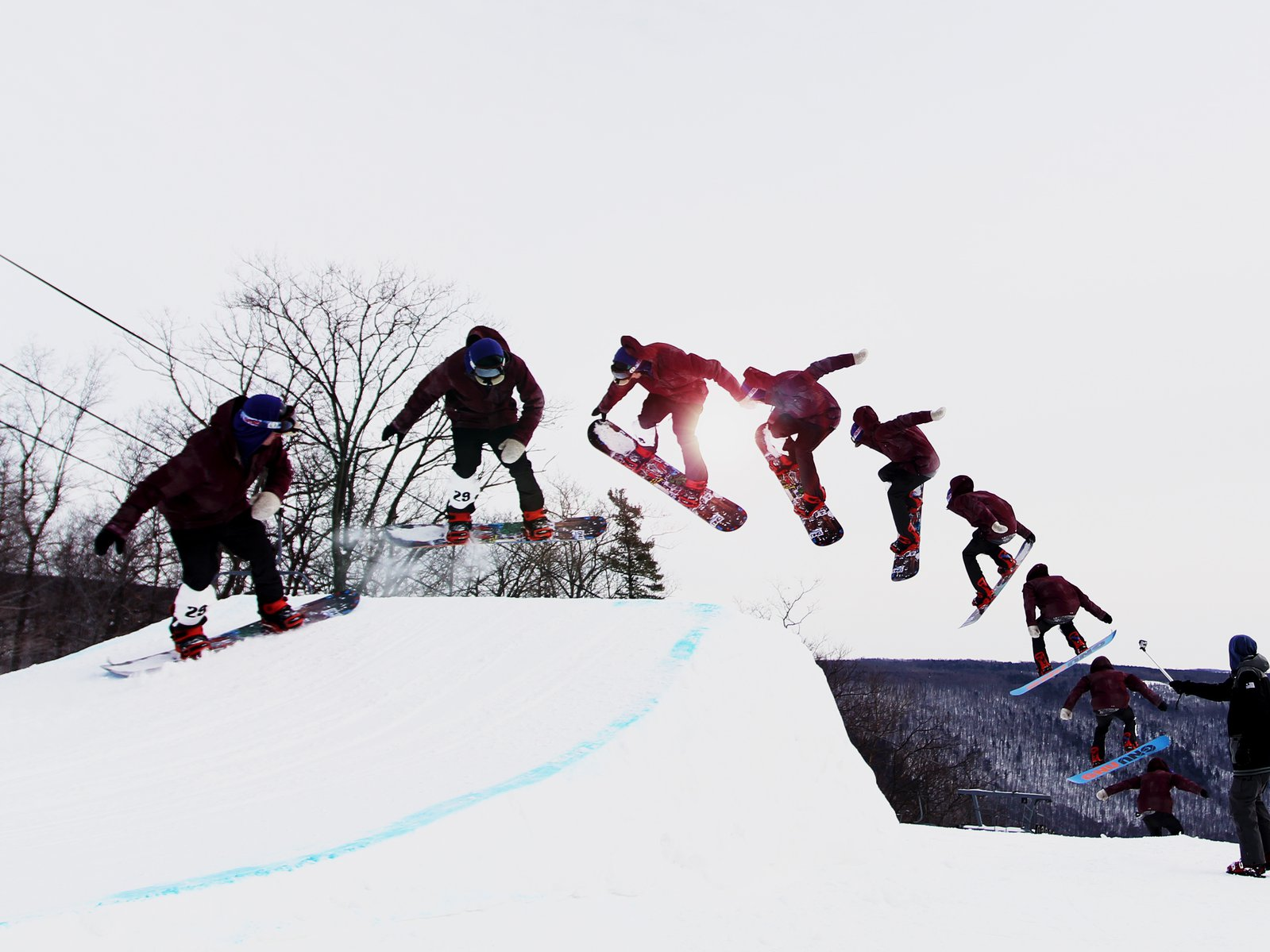 Snowboarder Sequence