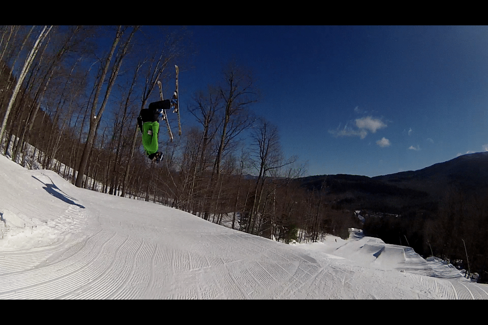 Backie at Whiteface