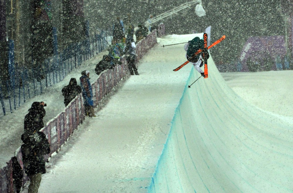 How I Almost Got Thrown Out of Halfpipe Finals