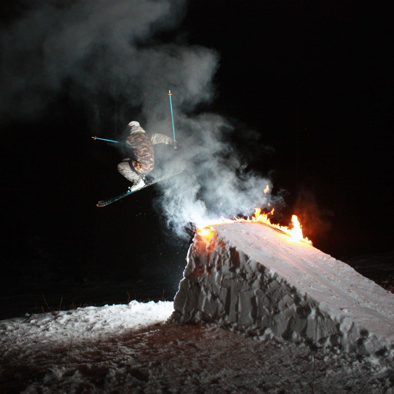 we burned it!!!