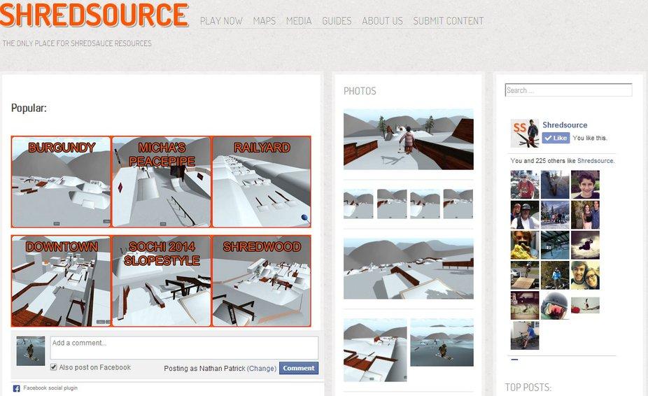 New Shredsauce Fan/Community Site | Shredsource