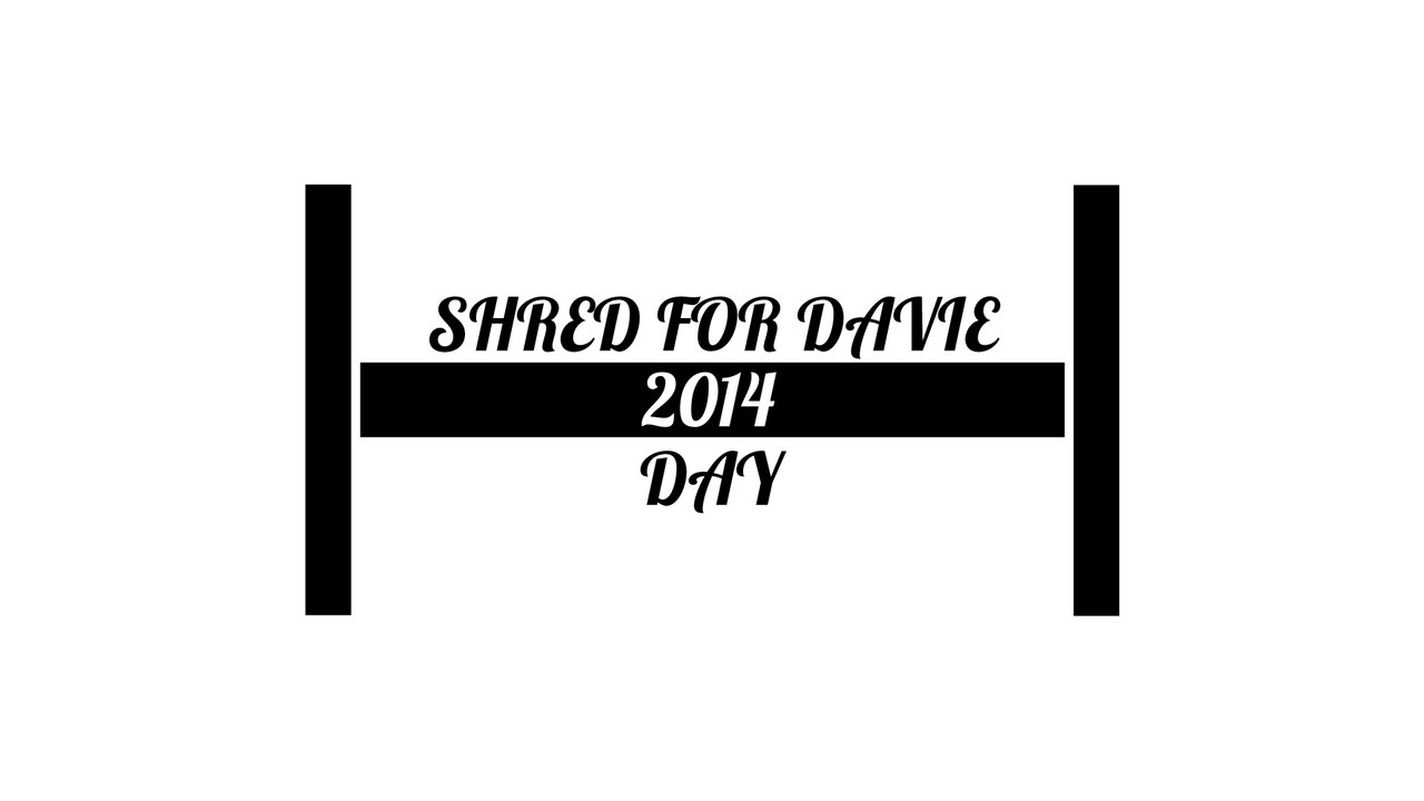 Shred For Davie Day 2014