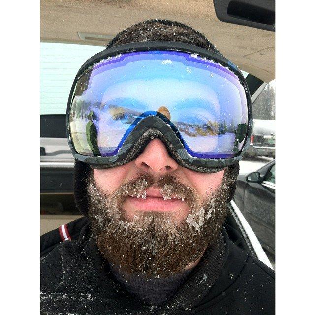 snowy beard doh