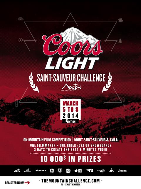 The Coors Light Saint-Sauveur Challenge
