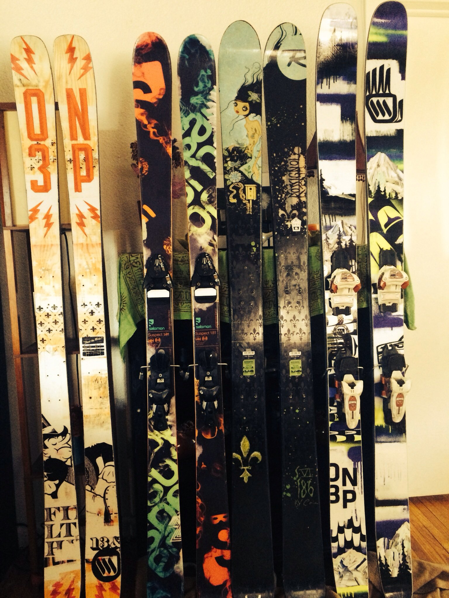 My active quiver