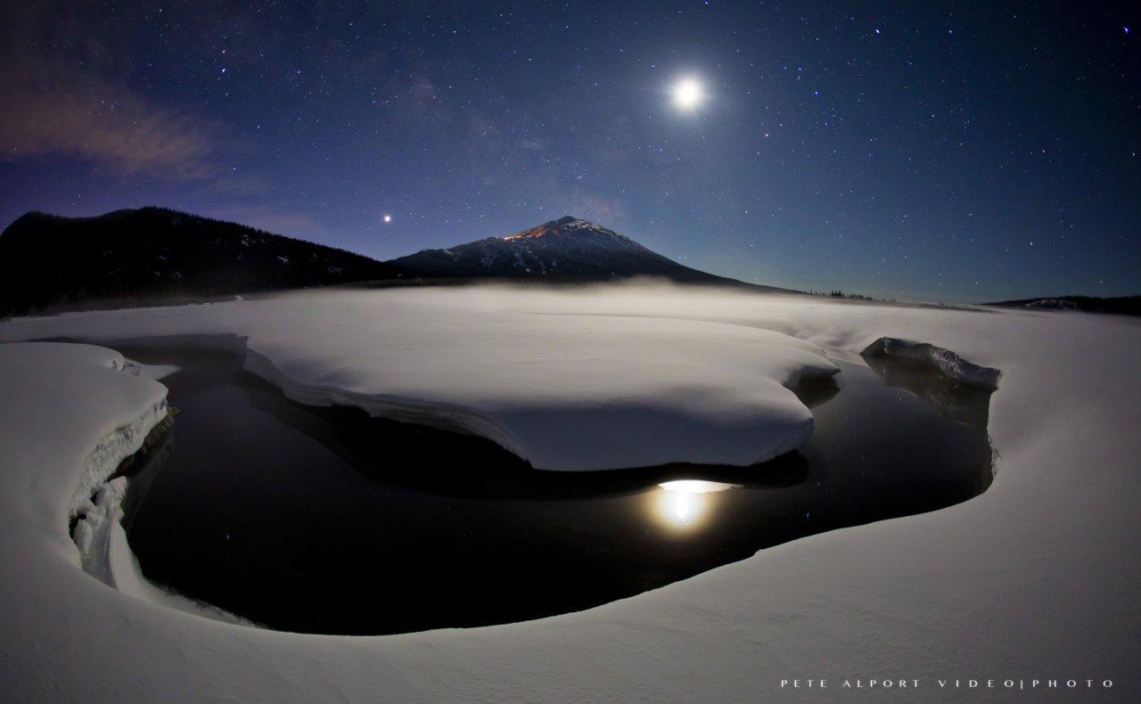 Night Time In Oregon