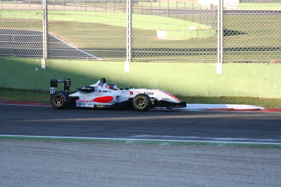 Formula 3 Test Photo