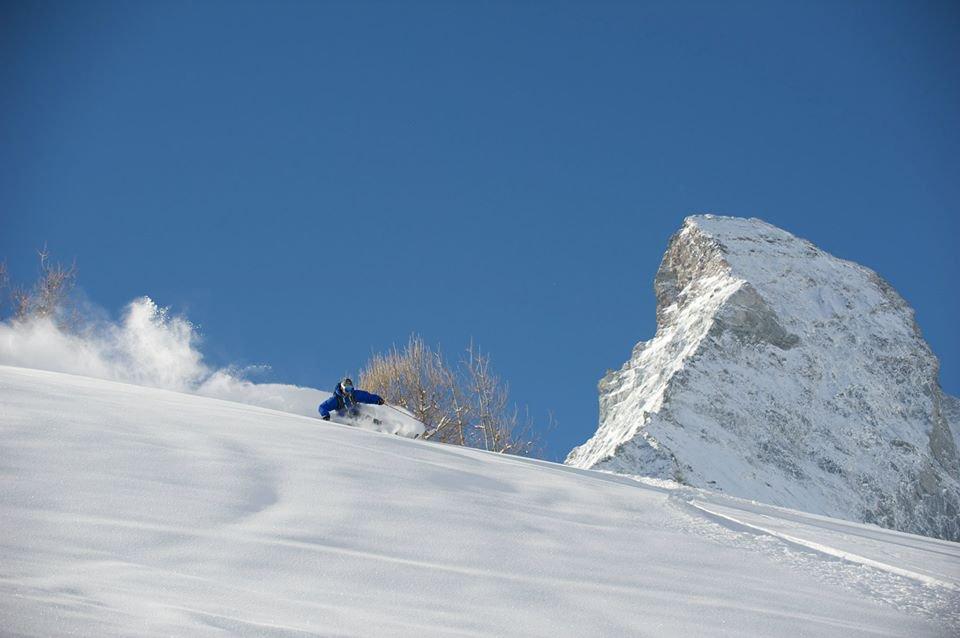 It isn't always sunny in Zermatt