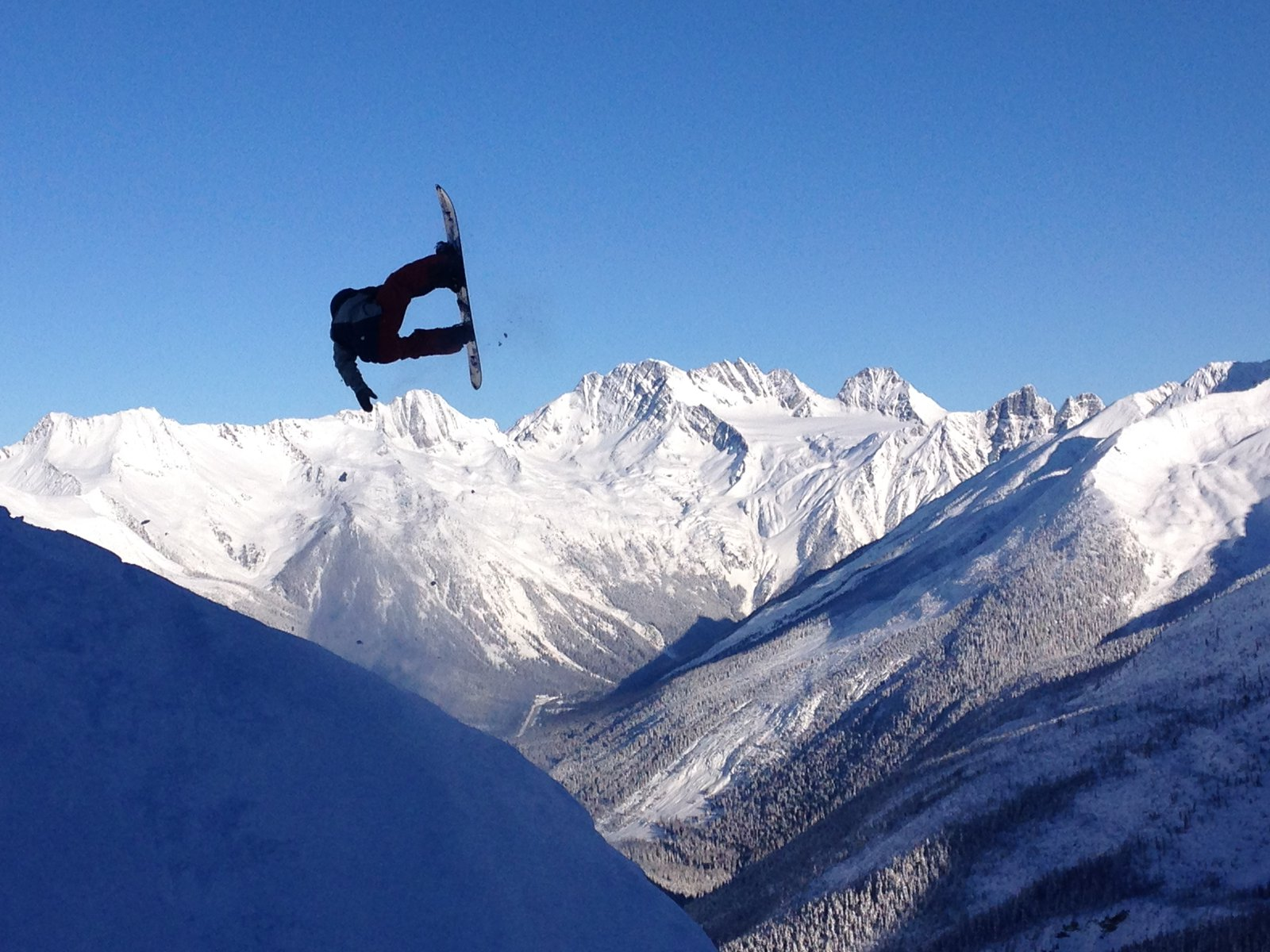Airing over Mt. Rogers