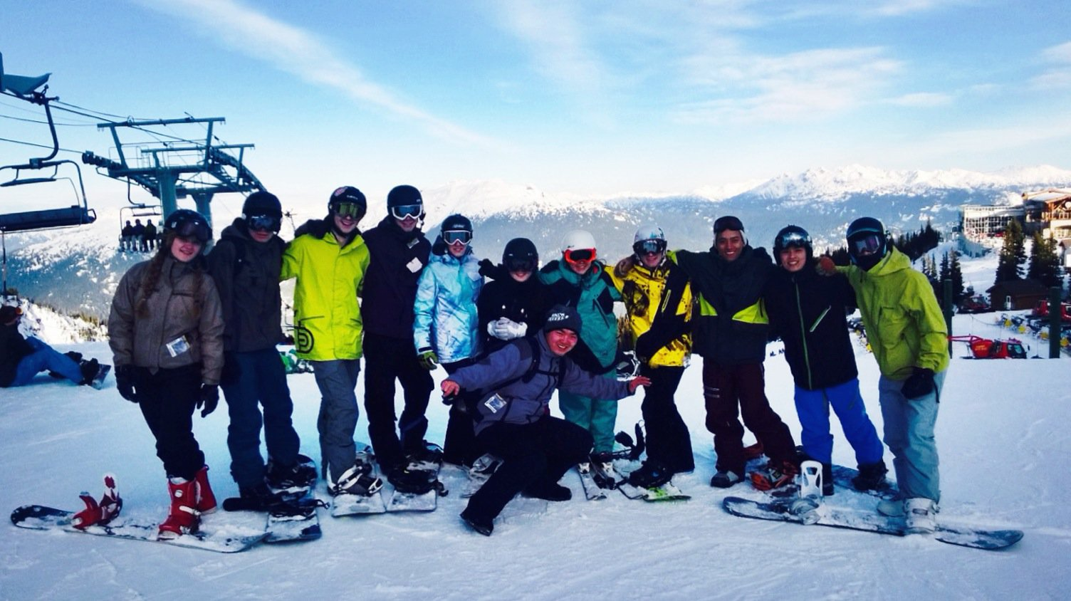 College weekend in Whistler