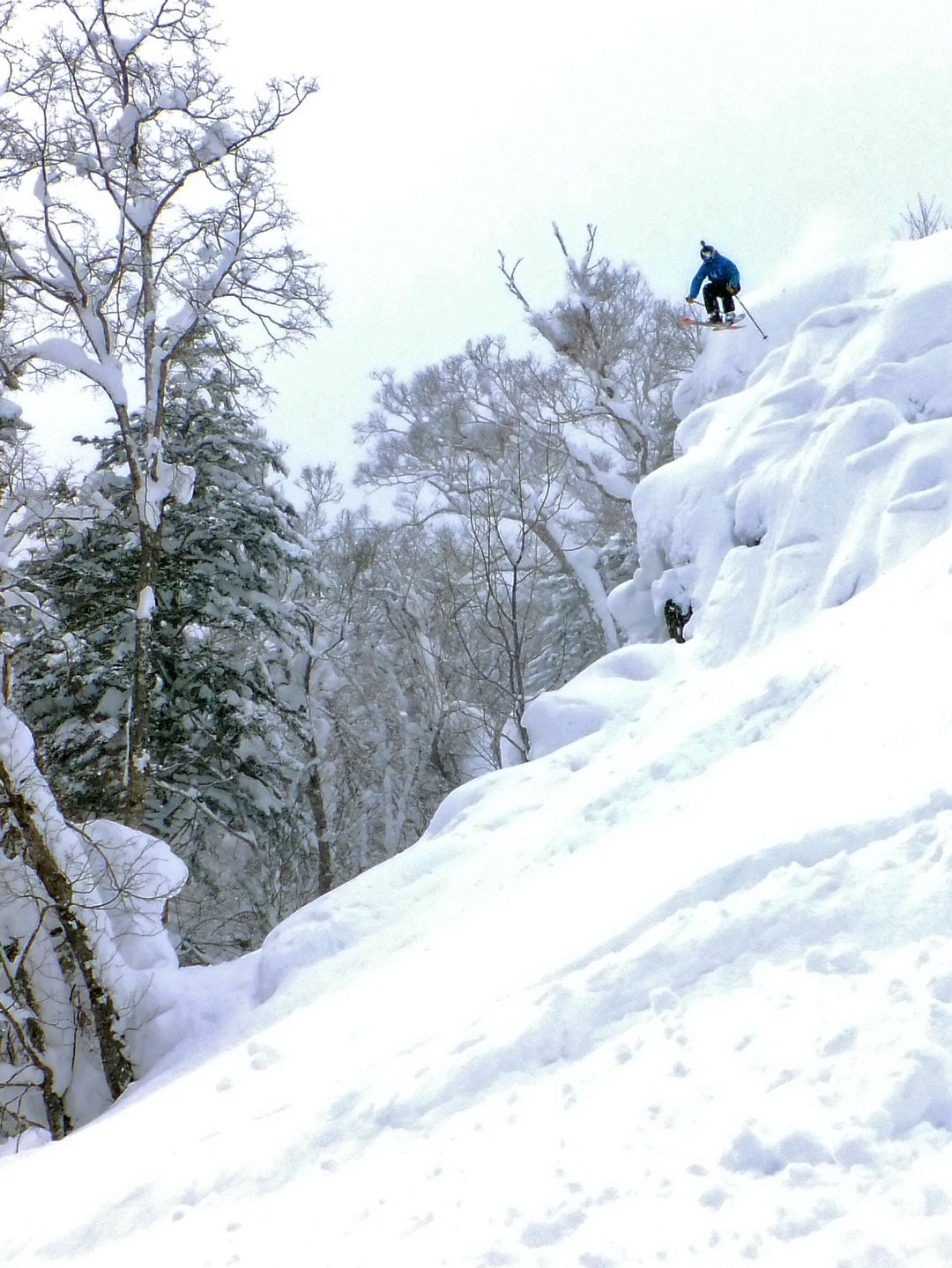 Heavenly Cliff #JAPOW