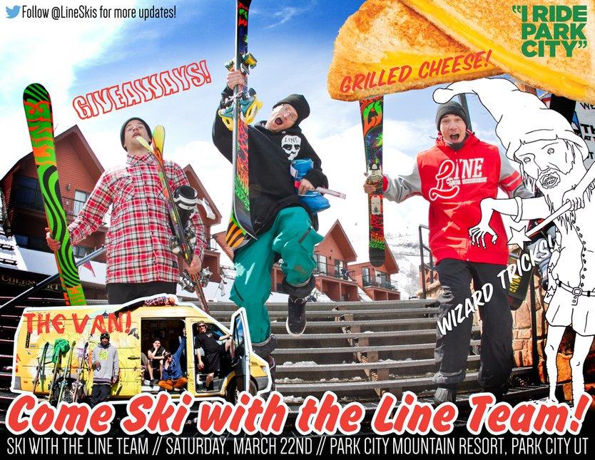 Come Ski with Line! 03/22 - Park City, UT