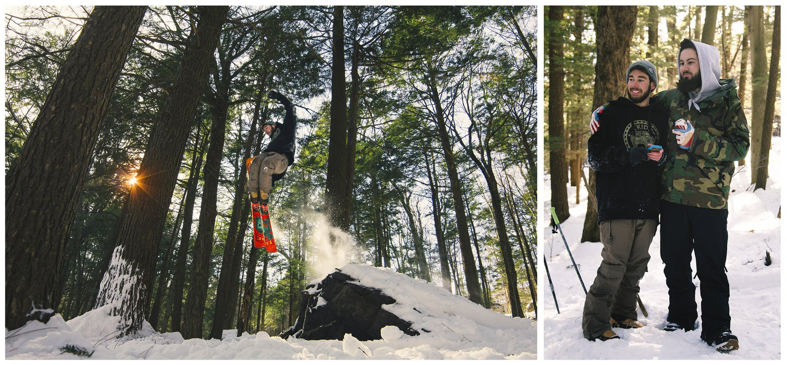 Trees, Skis and Heavy B's