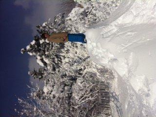 Back yard snowmaking/terrain park