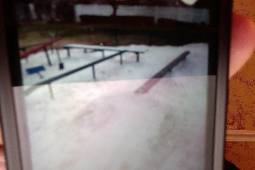 back yard terrain park/snowmaking