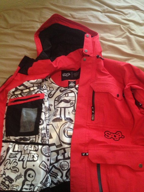 Saga - Red jacket XL