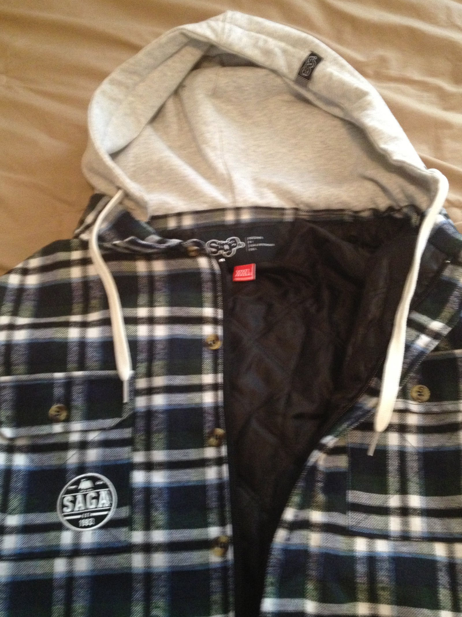 Saga - Insulated Riding Flannel - XXL