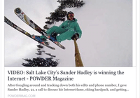 Salt Lake City's Sander Hadley is Winning The Internet
