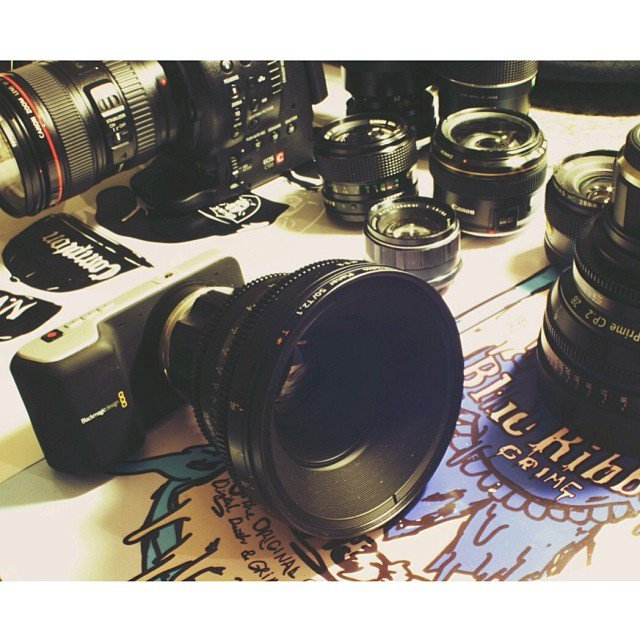 Blackmagic Design Pocket Cinema Camera & Zeiss