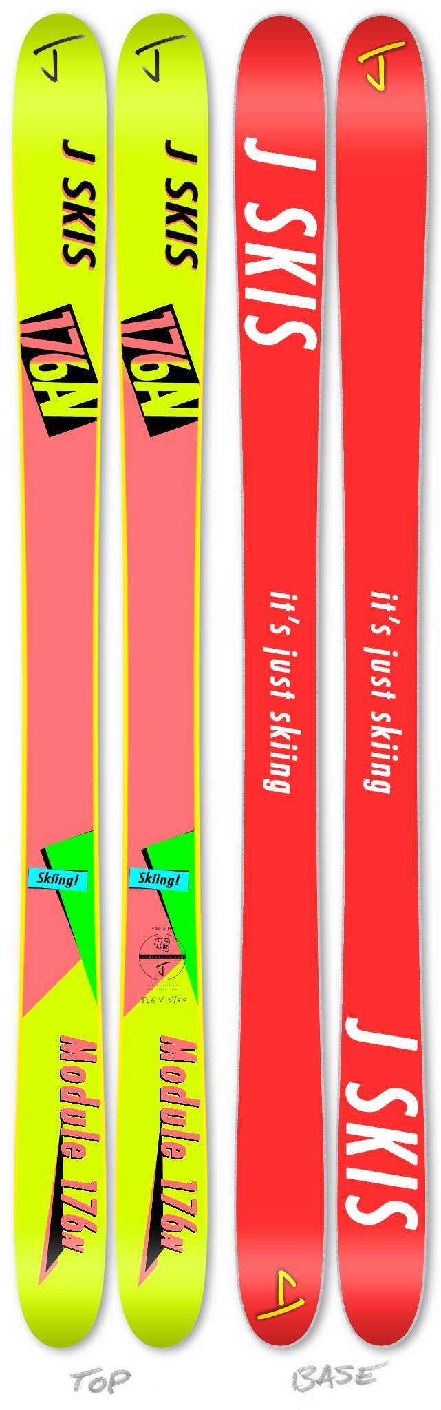 J Skis X You Design - Retrofied