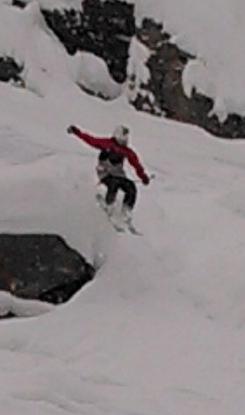 Massive Cliff Jump