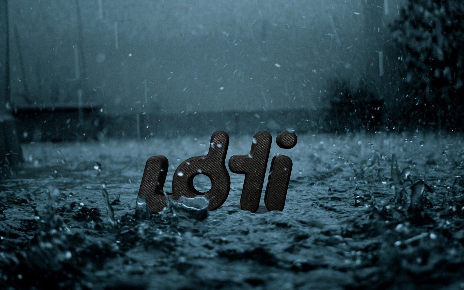 Lohi in the rain