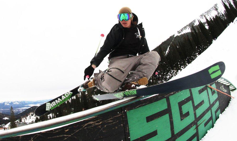 Park Skiing, an interview