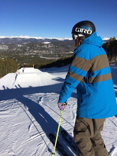 Freddy at Breck