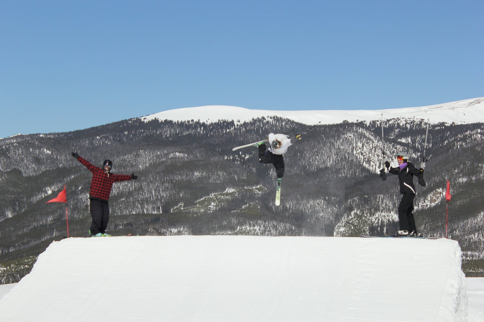My Mom Experiences Skiing for the First Time